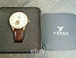 Montre Yema Automatique Homme comme Neuve jamais portée ref YEAU 026 tourbillon