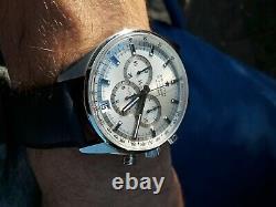 Montre Zenith El Primero Chronographe 36 000VPH Acier Automatique circa 2015