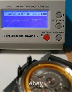 Montre automatique ETA 2824-2, neuve, BOND homage dial