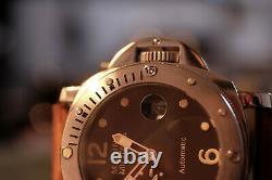 Montre automatique Marina Militare Seagull 2555 pour homme