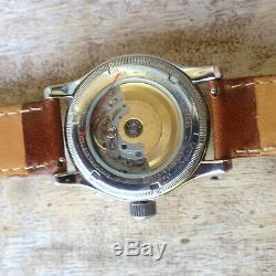 Montre automatique ORIS BIG CROWN boitier acier/cuivre 40 mm, montre vintage