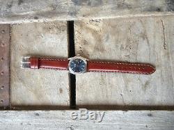 Montre automatique Rolex Oyster 5500 Air King Précision, 34 mm, 1970, bleu dial