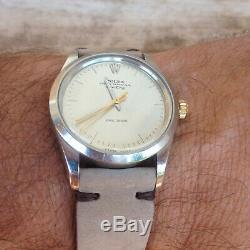 Montre automatique Rolex oyster precision 1980, cadran AIR KING et ETA 2824-2