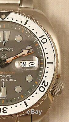 Montre automatique Seiko SRPA19K1 Turtle Zimbe LE numérotée