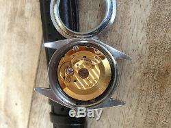 Montre automatique TUDOR Monarch date, idem Rolex Oyster datejust, case +/-34 mm