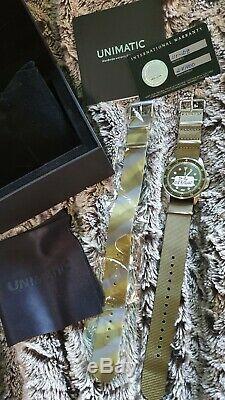 Montre automatique UNIMATIC Modello UNO U1-DZ Sapphire, 40mm, FULL SET NEW