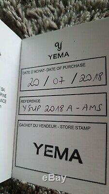 Montre automatique YEMA Superman Heritage 1st re-edition, ETA 2824, Sapphire