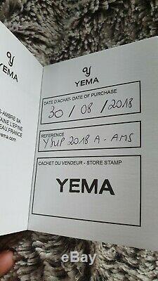 Montre automatique YEMA Superman Heritage ETA 2824, Sapphire, Gar. 08/2020