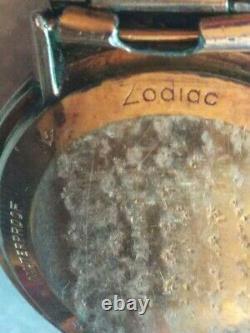 Montre automatique Zodiac en or rempli 10k. 10K Gold Filled