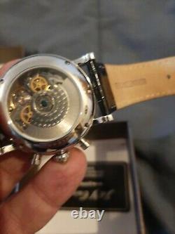 Montre automatique chronographe clone el primero idem poljot ty2940 president