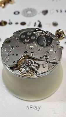 Montre automatique chronographe jour/date MERCURE (Valjoux 7750) REVISEE