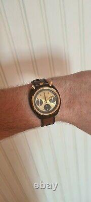 Montre automatique citizen bullhead chronographe Vintage