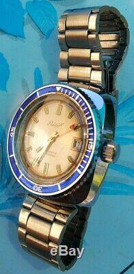 Montre automatique de plongée Récif de 1970. NOS