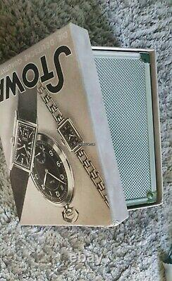 Montre automatique flieger STOWA PARTITIO Classic Black Box and Papers