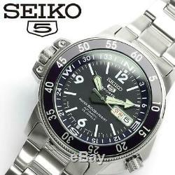 Montre automatique homme Seiko 5 Sports SKZ209J1 Atlas Compass Bezel Automatic S