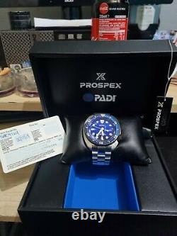 Montre automatique seiko Turtle custom bracelet super engeener 316 L saphir