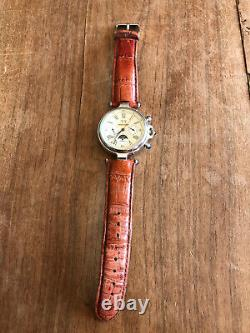 Montre bracelet N368 automatique windgassen phase lunaire