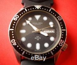 Montre de plongée suisse automatique SOLVIL & TITUS, TB état (divers watch)