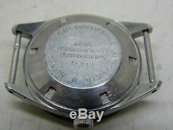 Montre de plongée automatique BESSA mouvement ETA2472 vintage 1970