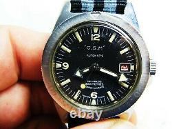Montre de plongée automatique CSM 200M mouv automatic AS2063 diver's watch