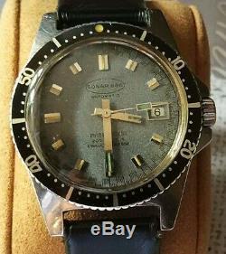 Montre de plongée automatique Michel Herbelin Sonar 666 200 m / diver watch