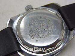Montre de plongée automatique YEMA SOUS MARINE mouvement FE 3611 vintage 1970