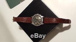 Montre homme EBEL automatique chronographe télémètre ancien P. BARAS