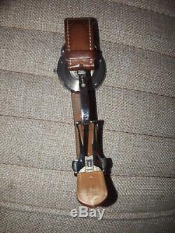 Montre homme Hermes Arceau Automatique Très Grand Modèle 40mm Marron
