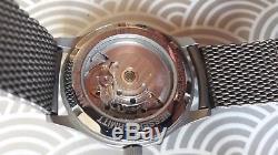 Montre homme Messerschmitt automatique couleur argent TBE édition limitée