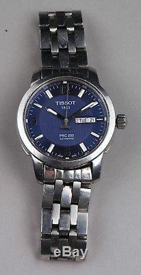 Montre homme Tissot PRC 200 automatique fond bleu valeur 650