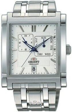 Montre homme automatique ORIENT EXECUTIVE FETAC002W0 automatic men's watch white