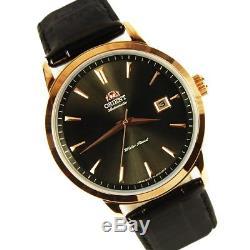 Montre homme automatique ORIENT FER27002B SYMPHONY Automatic bracelet en cuir
