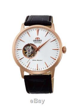 Montre homme automatique ORIENT Orient Automatic Watch FAG02002W Skeleton cuir