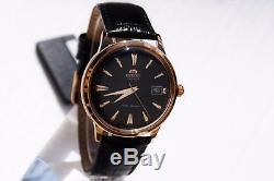 Montre homme automatique Orient Bambino FAC00001B automatic men's watch leathe