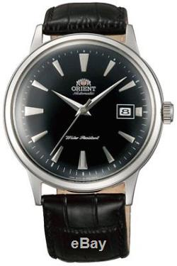 Montre homme automatique Orient Bambino FAC00004B automatic cuir leather Bambino