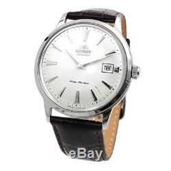 Montre homme automatique Orient Bambino FAC00005W cuir leather band