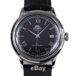 Montre homme automatique Orient Bambino FAC0000AB automatic mens watch black