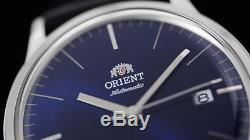 Montre homme automatique Orient Bambino FAC0000DD automatic men's watch leather