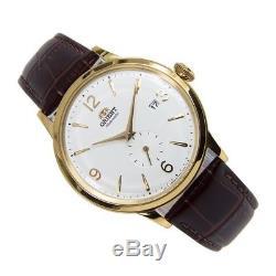 Montre homme automatique Orient Bambino automatic men's watch RA-AP0004S white