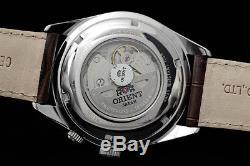 Montre homme automatique Orient FFM03005W Power Reserve leather band automatic