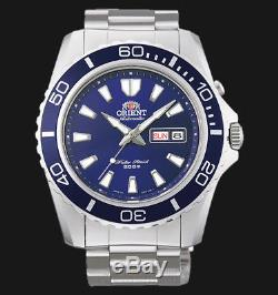 Montre homme automatique Orient Mako XL FEM75002D lumibrite orient st. Steel