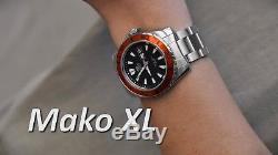 Montre homme automatique Orient Mako XL FEM75004B lumibrite orient st. Steel