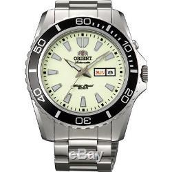 Montre homme automatique Orient Mako XL FEM75005R lumibrite orient st. Steel