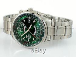 Montre homme automatique Orient automatic men's watch multi-year FEU07007F green