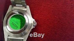 Montre homme rolex submariner 16610 date mouvement automatique avec boîte