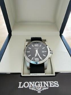 Montre longines conquest 41mm Automatique L3.777.4.58.6