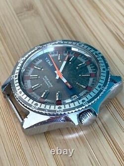 Montre vintage automatique Yema Sous-Marine FE 4611 French watch automatic