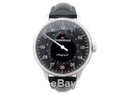 Neuf Montre Meistersinger Perigraph Bm1007 Automatique 38 MM Acier Watch 1590