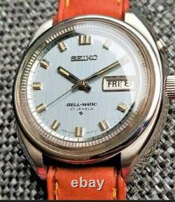 N. O. S Seiko Bell-matic 4006 Montre Automatique Alarme 1971