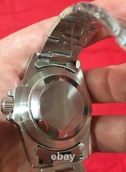 Neuf! Montre Marque Seiko Automatique Mod Vintage 5513 5517 Milsub Nh35 Rare